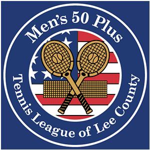 Men's 50 Plus Tennis League of Lee County logo